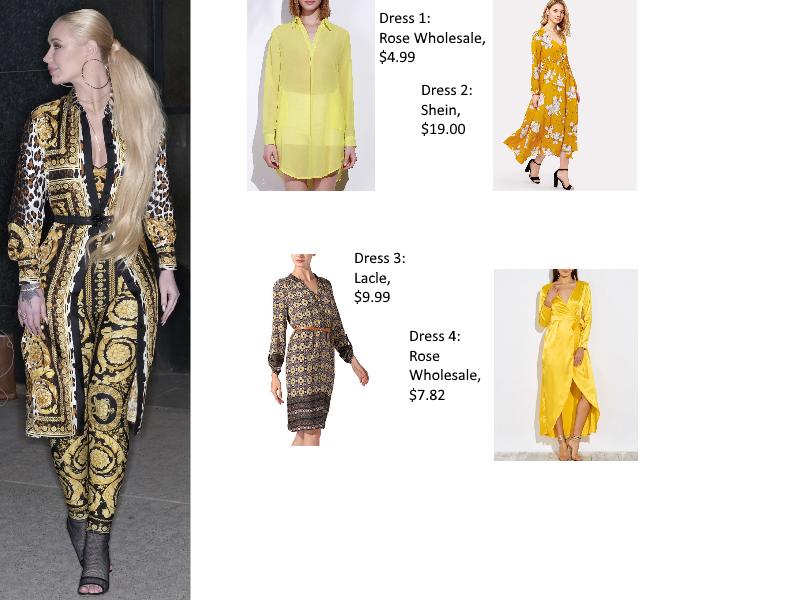Iggy Azalea Dress forLess