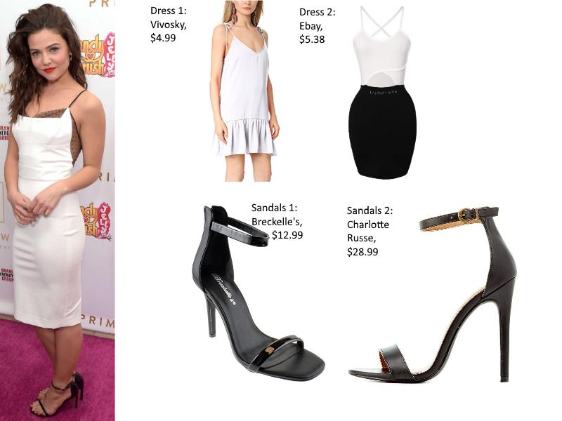 Danielle Campbell Dress forLess